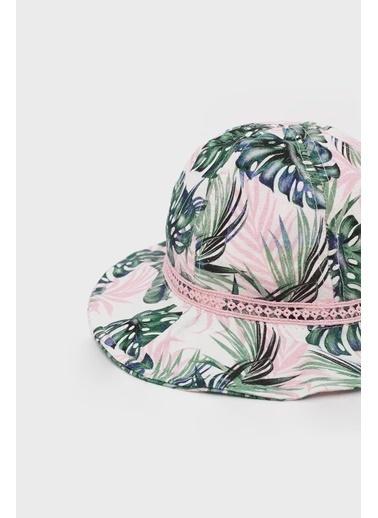 BG Baby Kız Bebek Desenli Şapka Renkli